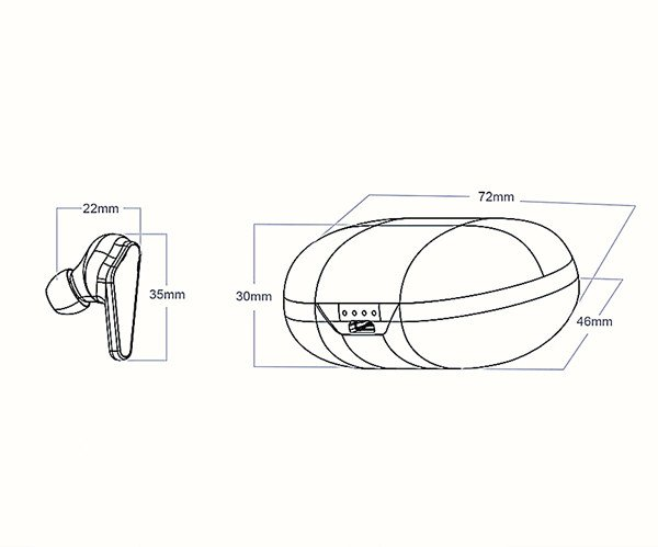 Wireless Earbuds A Outline